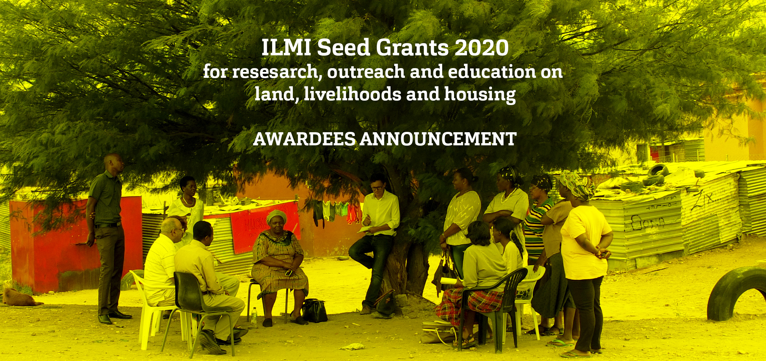 ILMI Seed Grants 2020 AWARDEES
